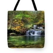 Quinn Run Cascades Tote Bag