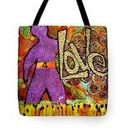 Race 4 Love Tote Bag