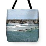 Race Boat Tote Bag