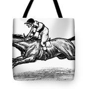 Race Horse, 1900 Tote Bag