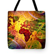 Races Of Race  Tote Bag