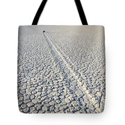 Racetrack Death Valley Trail Of Mystery Tote Bag