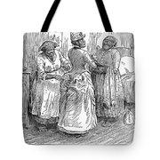 Racial Caricature, 1886 Tote Bag