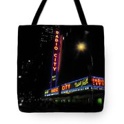 Radio City Music Hall - Greeting Card Tote Bag