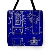 Radio Phone Patent Tote Bag