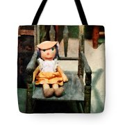 Rag Doll In Chair Tote Bag