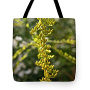 Rag Weed Tendril Tote Bag
