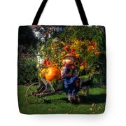 Raggedy Andy Square Tote Bag