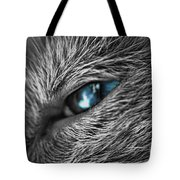 Raging Blue Tote Bag