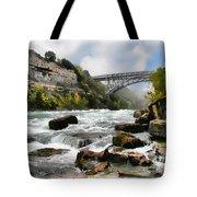 Raging Niagara          Tote Bag