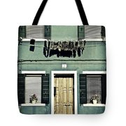 rags in Venice Tote Bag