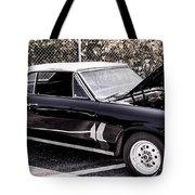 Ragtop In Black Tote Bag