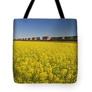 Rail Cars Carrying Containers Passe Tote Bag