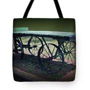 Rail Road Wagon Tote Bag