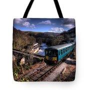 Railcar At Berwyn Tote Bag
