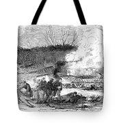 Railroad Accident, 1853 Tote Bag