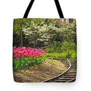 Railroad Beauties Tote Bag