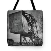 Railroad Bridge 10615b Tote Bag