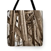 Railroad Trussel Tote Bag