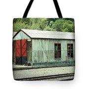 Railroad Woodshed 2 Tote Bag