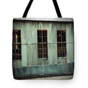 Railroad Woodshed Tote Bag