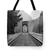 Railway Track Tote Bag