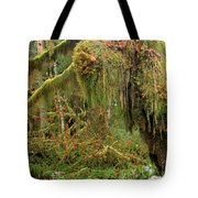 Rain Forest Crocodile Tote Bag