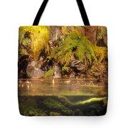 Rain Forest Pool Tote Bag