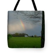 Rainbow After The Rain Tote Bag