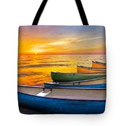 Rainbow Armada Tote Bag