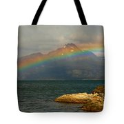 Rainbow At The End Of The World  Tote Bag