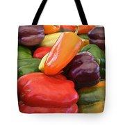 Rainbow Bells Tote Bag by Susan Herber
