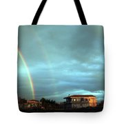Rainbow Calabrese Tote Bag