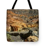 Rainbow Canyon Death Valley Tote Bag