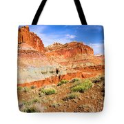 Rainbow Castle Tote Bag