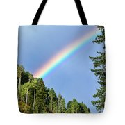 Rainbow Closeup Tote Bag