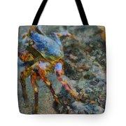 Rainbow Crab Tote Bag