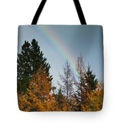 Rainbow Forest Tote Bag