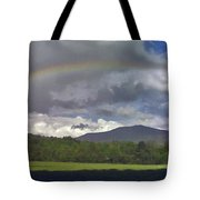 Rainbow Frames Ascutney Mountain Tote Bag