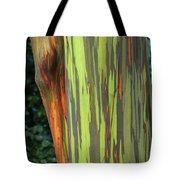Rainbow Gum Tree Hawaii Tote Bag