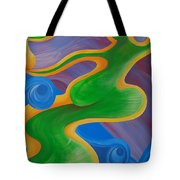 Rainbow Healing For Family Tote Bag