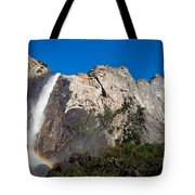 Rainbow On Bridalveil Fall Tote Bag