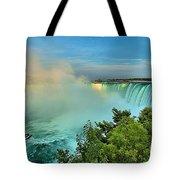 Rainbow Over Niagara Tote Bag