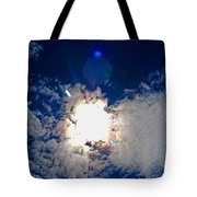Rainbow Round The Sun II Tote Bag
