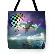 Rainbow Set Free Tote Bag