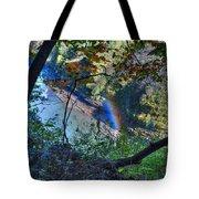 Rainbow Through The Rough Tote Bag