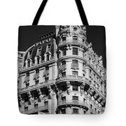 Rainbows And Architecture In Black And White Tote Bag