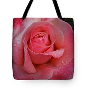 Raindrops On Roses Eight Tote Bag
