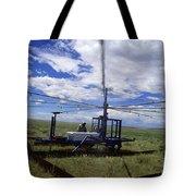 Rainfall Simulator Tote Bag