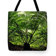Rainforest Backlight Tote Bag